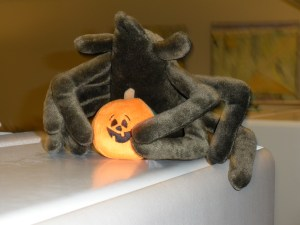 Little did we know, but Halloween is in fact controlled by a giant Spider